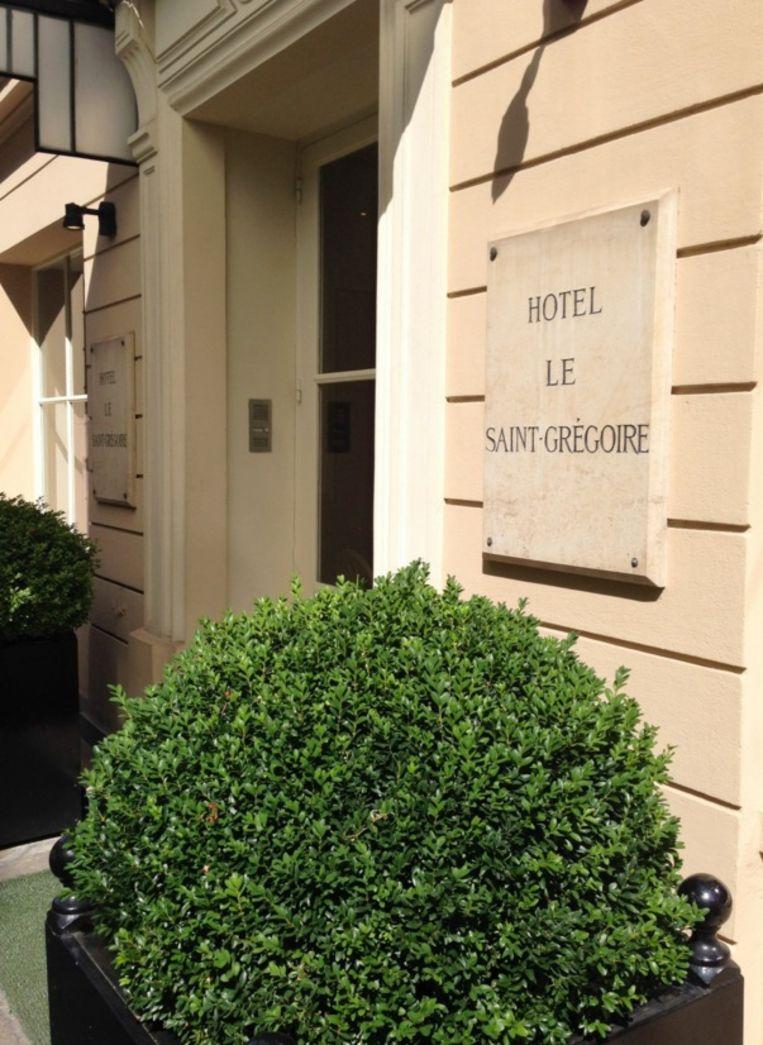 De voorgevel van hotel Le Saint-Grégoire. Beeld Le Saint-Grégoire