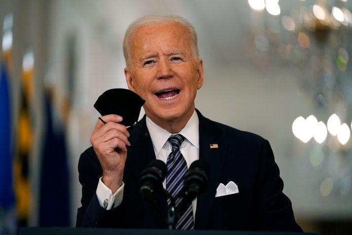 De president van de VS Joe Biden