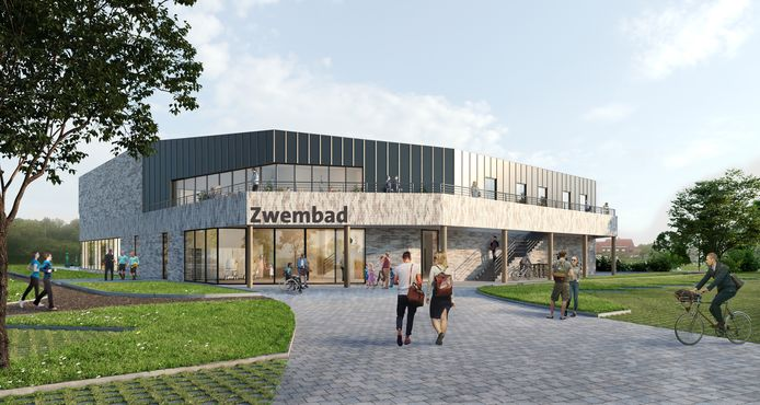 Wevelgem bouwt een ultramodern zwembad. Zo zal het eruitzien.