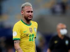 Neymar in tranen na verlies in finale Copa en zoekt troost bij goede vriend Messi