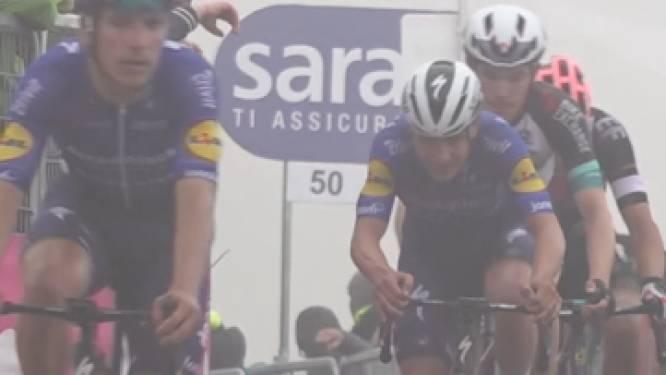 De 5 momenten van de Zoncolan-etappe: Evenepoel moet zowel bergaf als bergop passen, Bernal geeft concurrentie een ferme tik