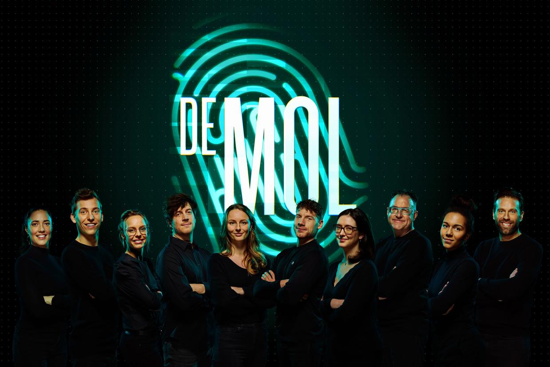 De kandidaten van 'De mol', vanaf zondag op uw scherm. Beeld PLAY4