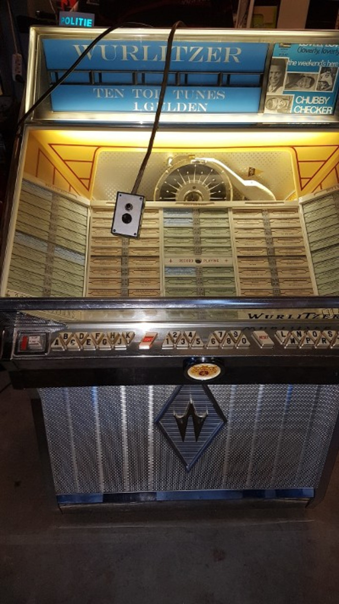 De jukebox.