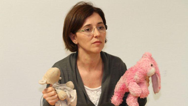De moeder van de vermiste tweeling. Foto AP Beeld