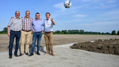 Nieuw voetbalveld VKS Hamme-Zogge krijgt stilaan vorm: Terrein moet tegen lente 2020 bespeelbaar zijn
