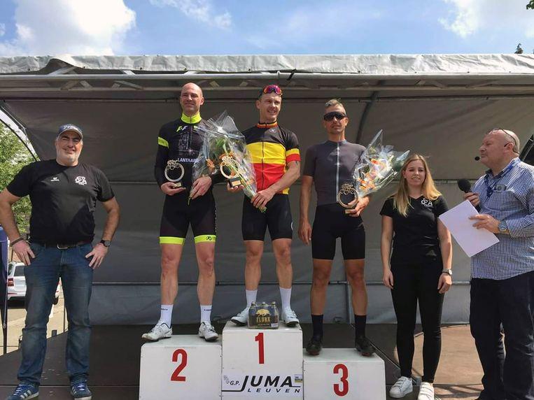 In Everberg vond de tweede editie van het bk voor wielertoeristen plaats. Patrick Eulaerts uit Machelen pakte de titel bij de +40