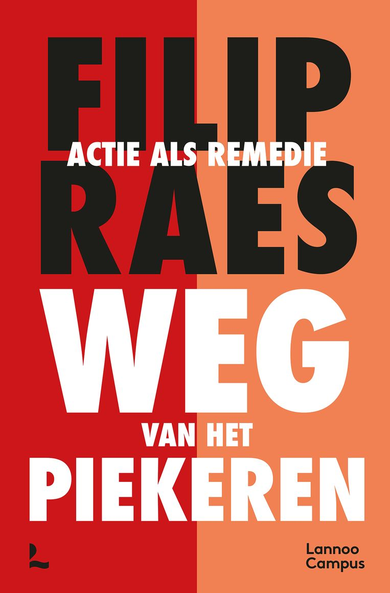 'Weg van het piekeren. Acite als remedie' van Frank Raes is verschenen bij Lannoo (190 p., €22,50) Beeld RV