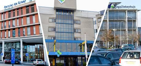Het ontwarren van de ziekenhuisknoop Langeland, Haga en Reinier de Graaf kost meer tijd