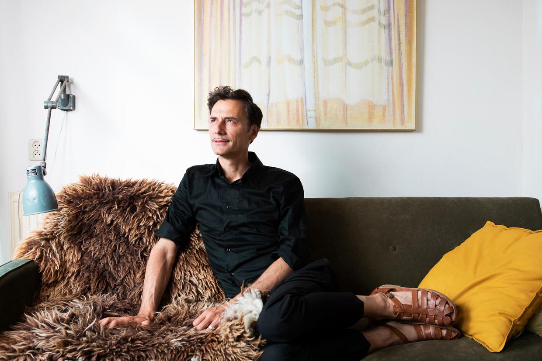 Frank Meester: 'Er is behoefte aan iemand die mild is en zegt: ploeter lekker door, het komt goed.' Beeld Martijn Gijsbertsen