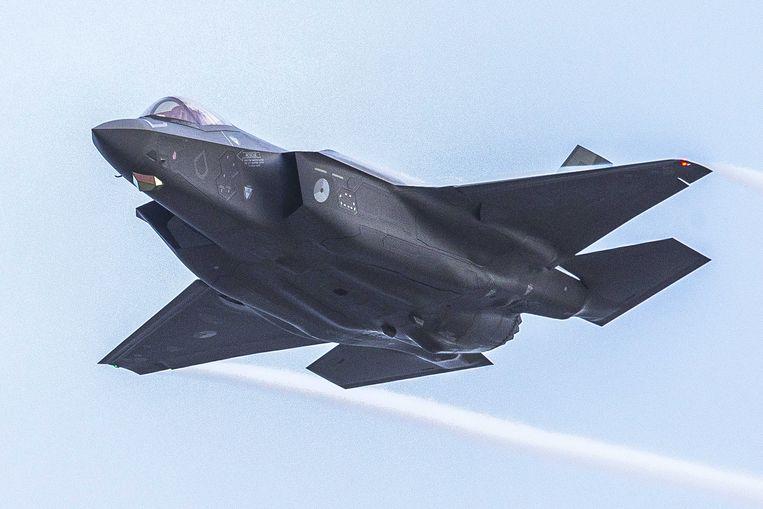 Een Lockheed Martin F-35 van de Nederlandse luchtmacht. Beeld EPA