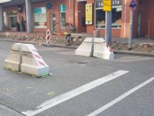 Klappaaltje Van Berckelstraat (voorlopig) verdwenen: 'Paaltjes zijn voor calamiteiten, niet voor bussen'