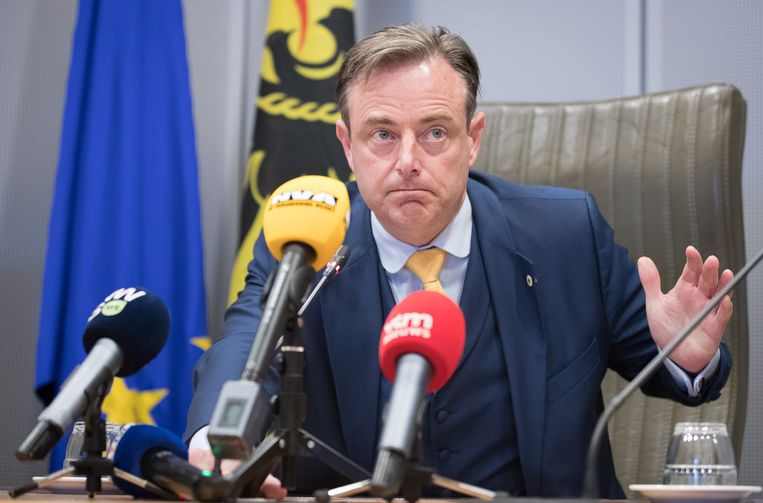 N-VA-voorzitter Bart De Wever. Beeld BELGA