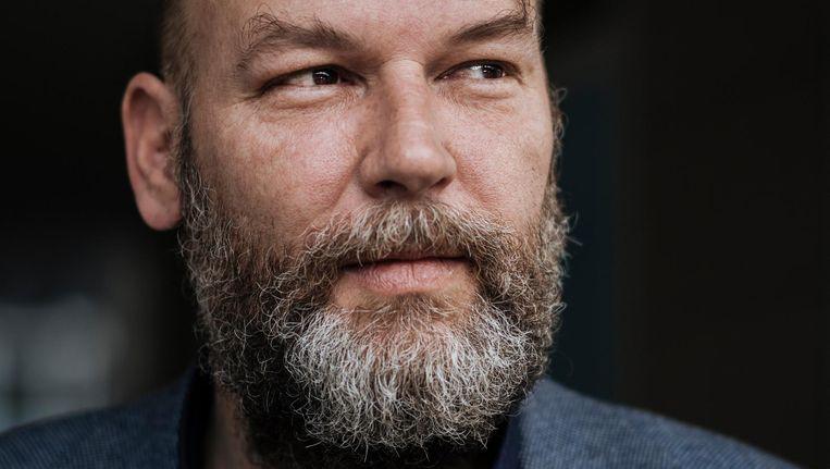 GroenLinks-fractievoorzitter Rutger Groot Wassink: 'Ik ben niet verplicht te luisteren, en ging dus maar even naar de wc.' Beeld Marc Driessen