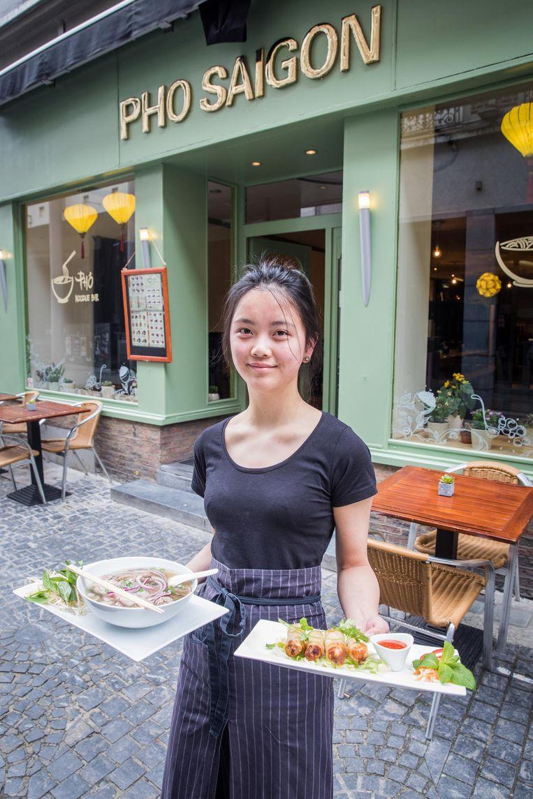 Gia Hien lam van Pho Saigon.