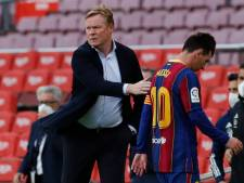 Messi heeft mogelijk laatste duel voor Barça gespeeld: Koeman stuurt sterspeler op vakantie