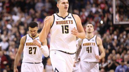 Denver Nuggets stoppen zegereeks Toronto Raptors dankzij 'triple-double' Jokic