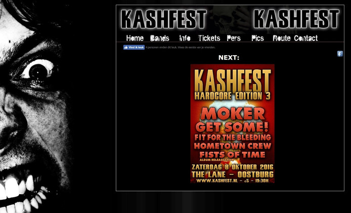 Screenshot Kashfest.nl