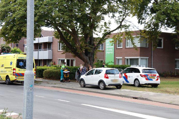Een fietser raakte vrijdagmiddag gewond op de Koorstraat in Boxmeer.
