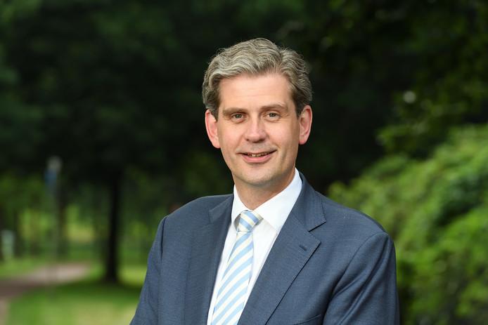 Burgemeester van Dordrecht Wouter Kolff bezoekt dinsdag zijn oude gemeente Veenendaal.