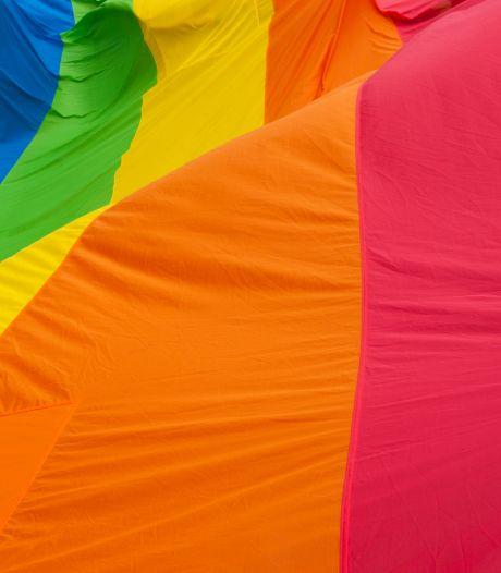 Man opgepakt na wegtrekken regenboogvlag Nieuwendijk