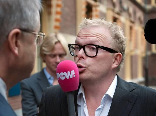 Jan Roos in zijn PowNed-dagen.