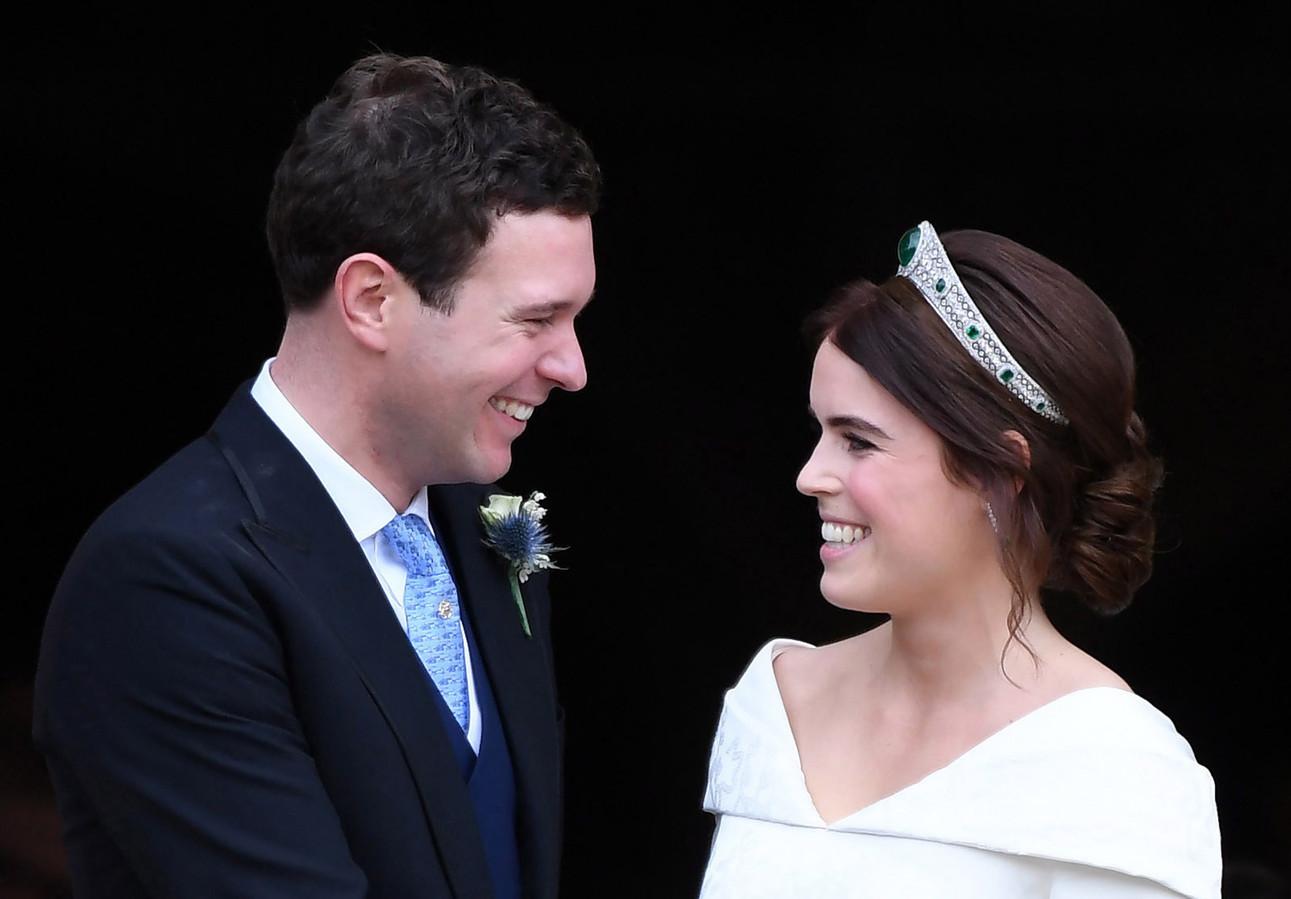 La princesse Eugenie et son mari Jack Brooksbank