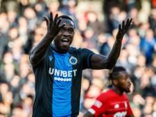 Mbaye Diagne écarté du noyau brugeois par Philippe Clement