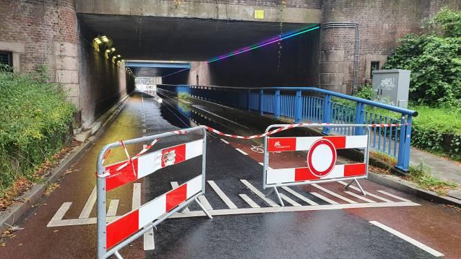 Hoosbui treft Deventer: Tunnel staat ondanks alle maatregelen toch weer vol water