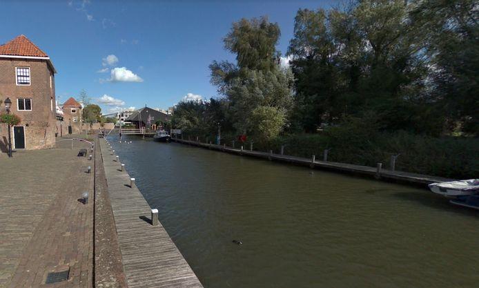 De Zuidwal en het Stadspark in Leerdam.