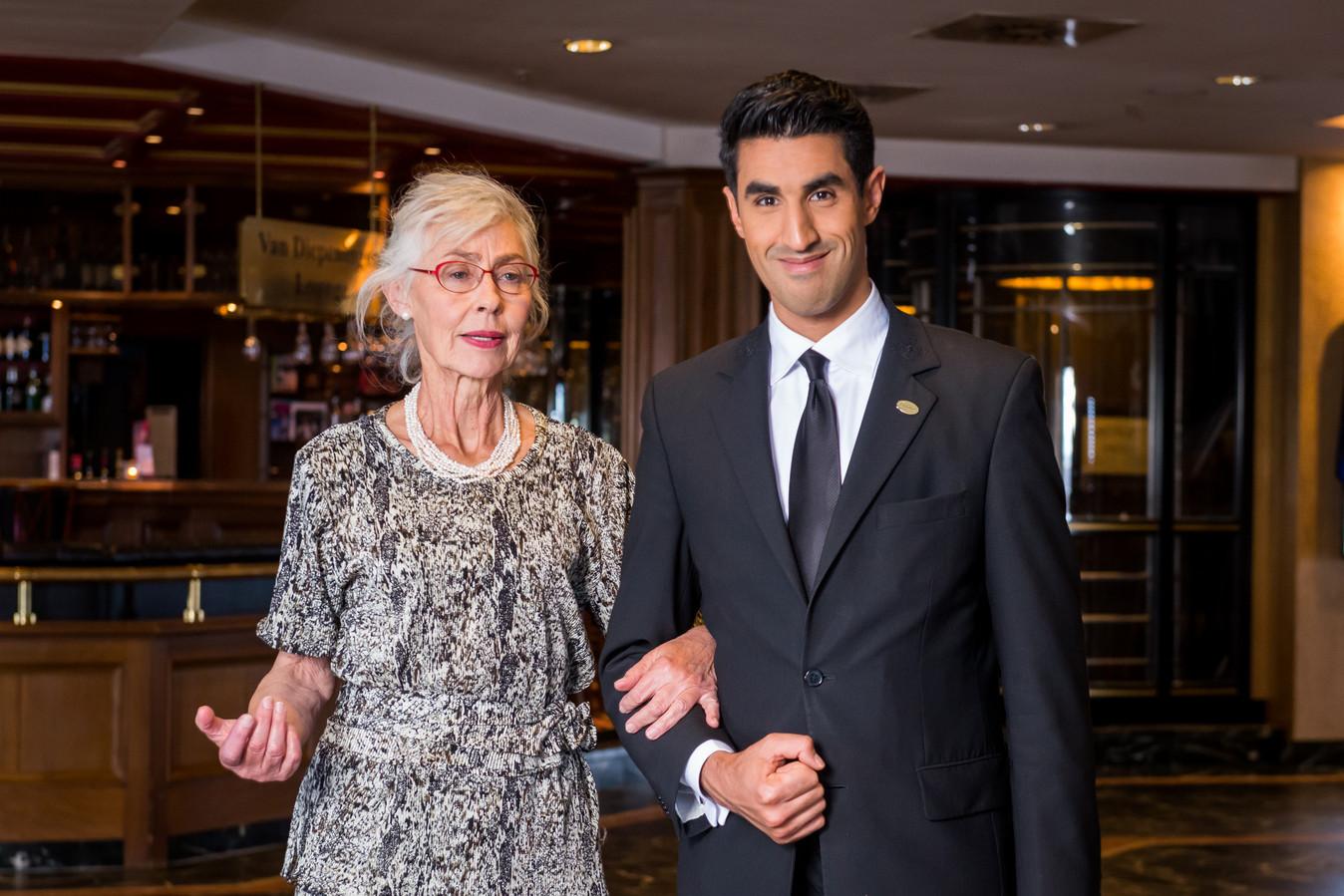 Hotelconciërge Moustapha Afkir
