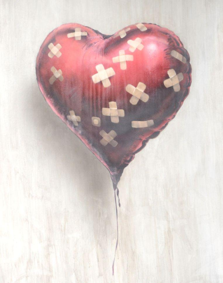 'Heart Balloon': 475.000 euro. Beeld GETTY