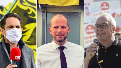 """""""Hang uit protest Vlaamse leeuw uit"""": oppositie reageert op Vivaldi-regering"""