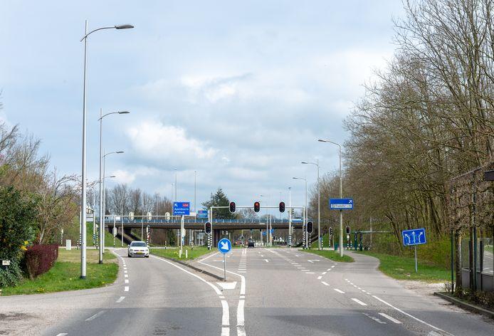Het traject Eperweg- A50 Heerde, hier op de foto, wordt nog aangepakt.