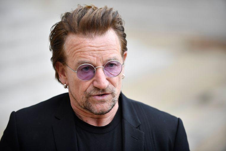 Ook Bono wordt genoemd in het dossier. De zanger van U2 wordt er in verband gebracht met belastingontduiking in Litouwen. Beeld EPA