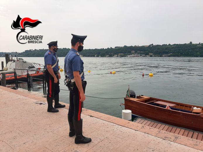 Carabinieri aan het Gardameer.