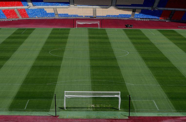 Het stadion van Sevilla. Beeld REUTERS