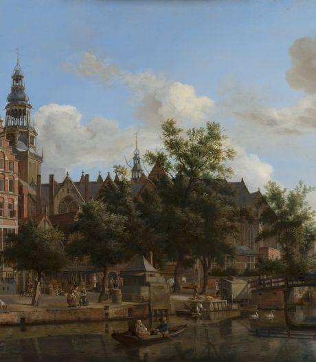Mauritshuis laat bezoeker ruiken aan stinkende grachten en parfums uit 17de-eeuwse schilderijen
