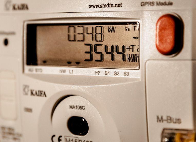 De slimme energiemeter.  Beeld ANP