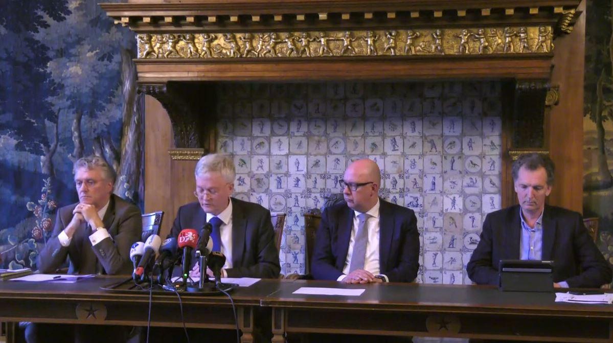 Persconferentie over coronavirus in Brabant.