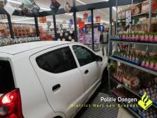 Auto rijdt Lidl in Dongen binnen, 33-jarige bestuurder verdacht van poging tot doodslag