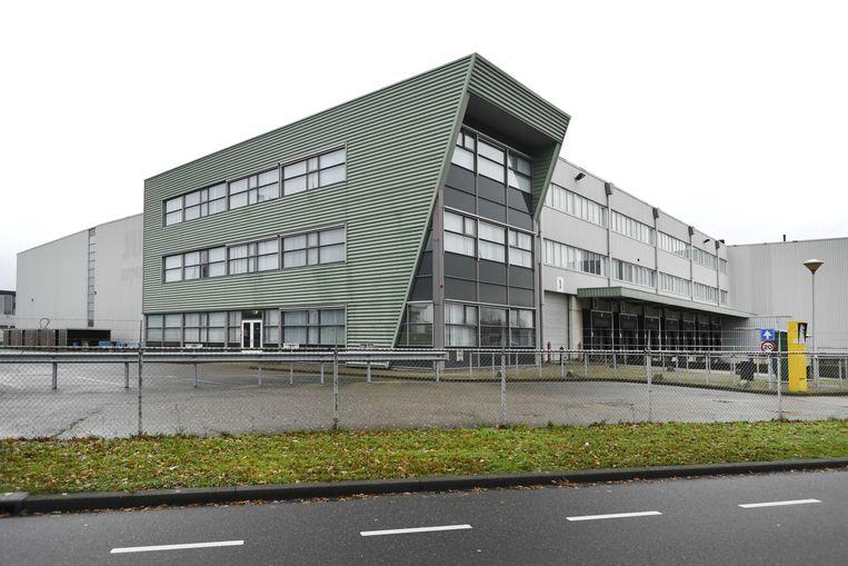 Het voormalig distributiecentrum van de Jumbo in Veghel. Beeld ANP