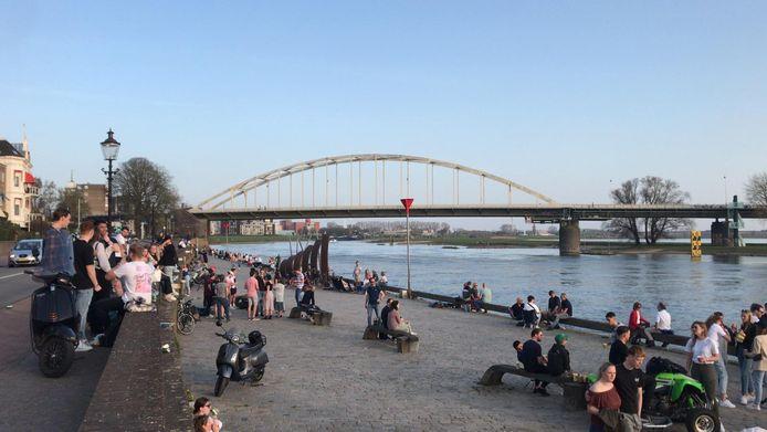 Chillen op de Welle in Deventer.