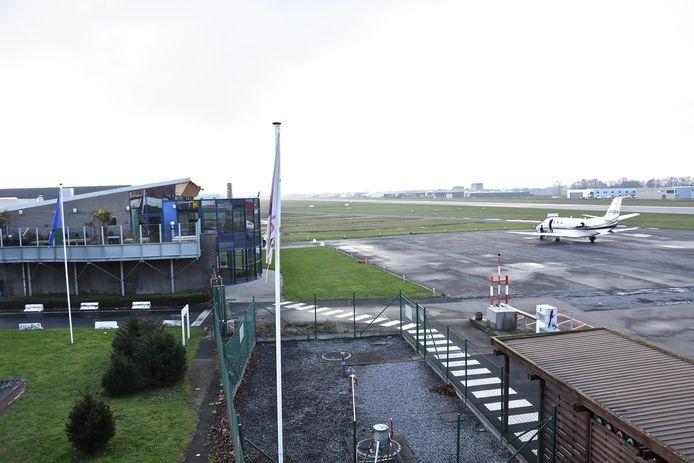 archiefbeeld van de luchthaven in Wevelgem
