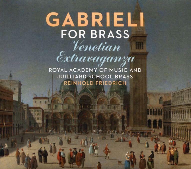Albumhoes Gabrieli for Brass – Venetian Extravaganza Beeld