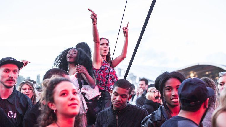 Het hipste publiek van de stad was in het Westerpark te vinden. Beeld Eva Plevier