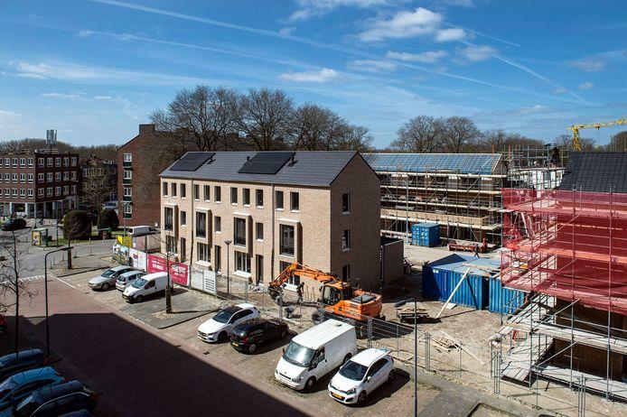 Nieuwbouw in de Heuvel in Breda.