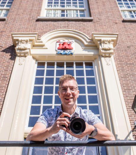 Max ter Burg is Kunstenaar van het Jaar 2021 in Rhenen en hoeft voor een mooie foto zijn huis niet uit
