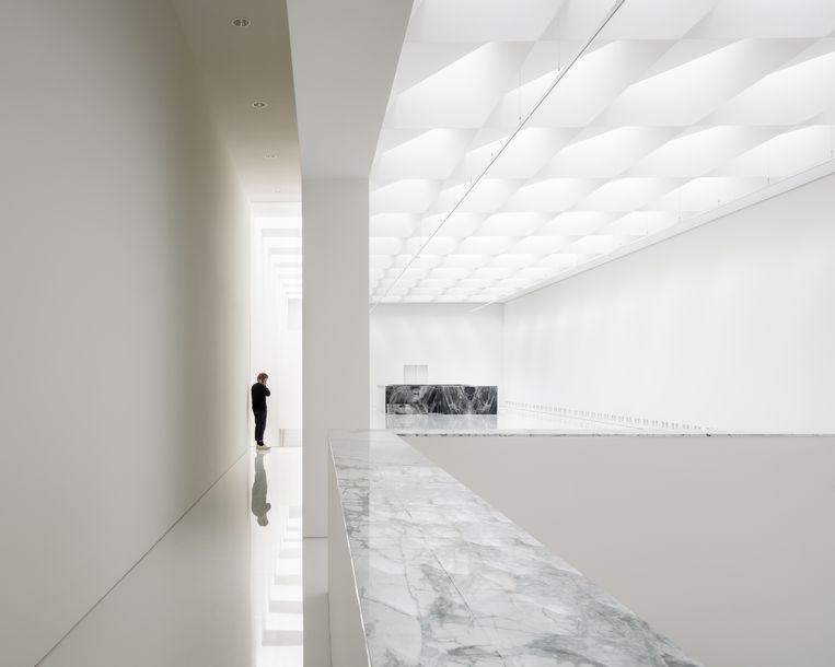 Het Kunstmuseum in Antwerpen - KAAN Architecten. Beeld Foto: Stijn Bollaert