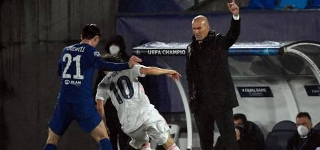Zidane blij dat Real nog leeft: 'We hadden het zwaar'
