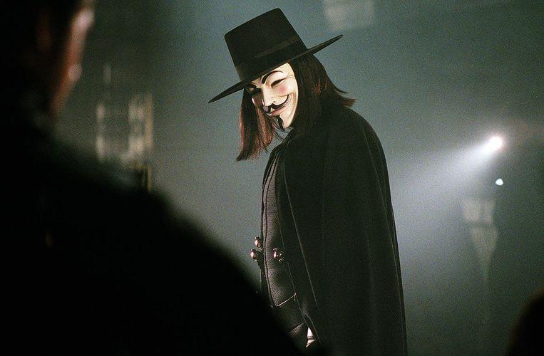 V for Vendetta VS/GB/D - 2005 - James McTeigue Leg.: Hugo Weaving   (V for Vendetta: At the IMAX) (V wie Vendetta) (V pour Vendetta) Beeld INTERNET
